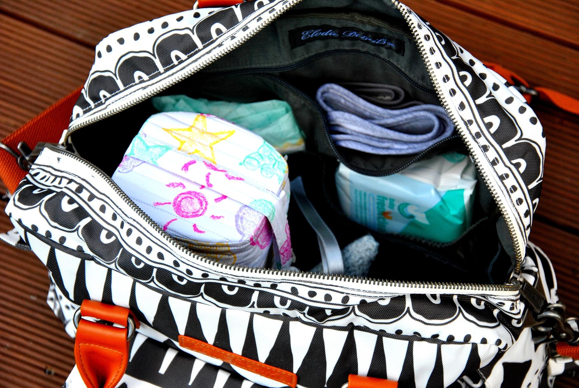 jak zapakować torbę dla przyszłej mamy
