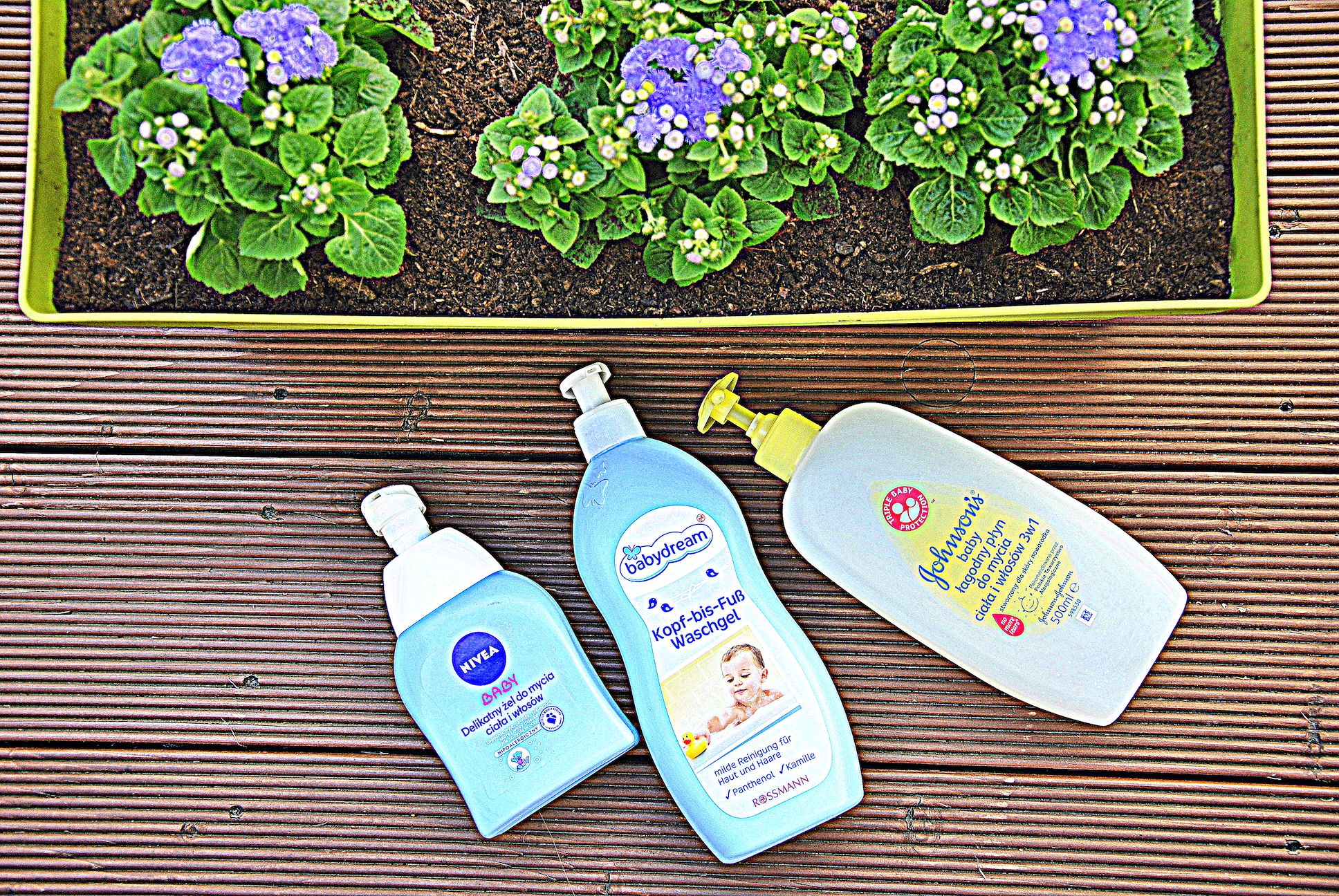 Kąpiel niemowlaka- analiza składów kosmetyków z sieciówki