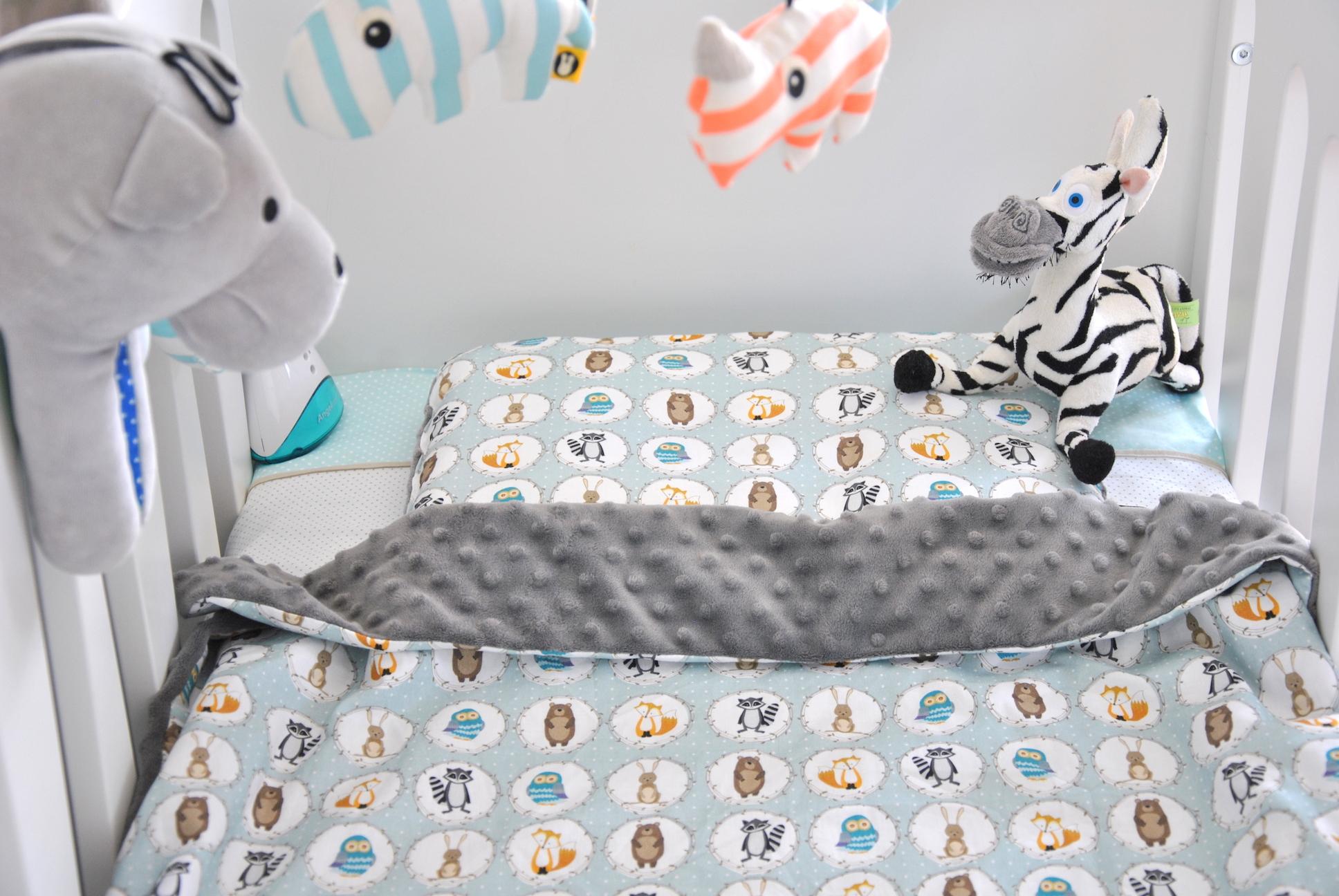 JAK SOBIE POŚCIELISZ, TAK SIĘ WYŚPISZ, czyli łóżeczko Janka w letniej wersji