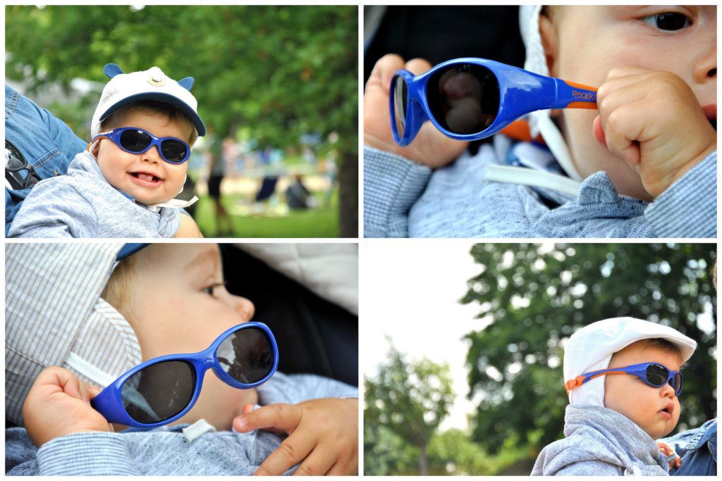 okulary niemowlęce