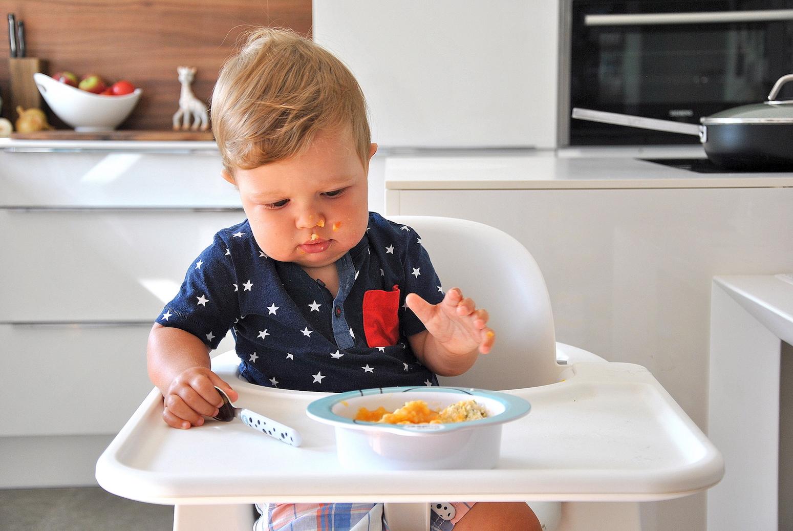Pożywny obiadek dla niemowlaka