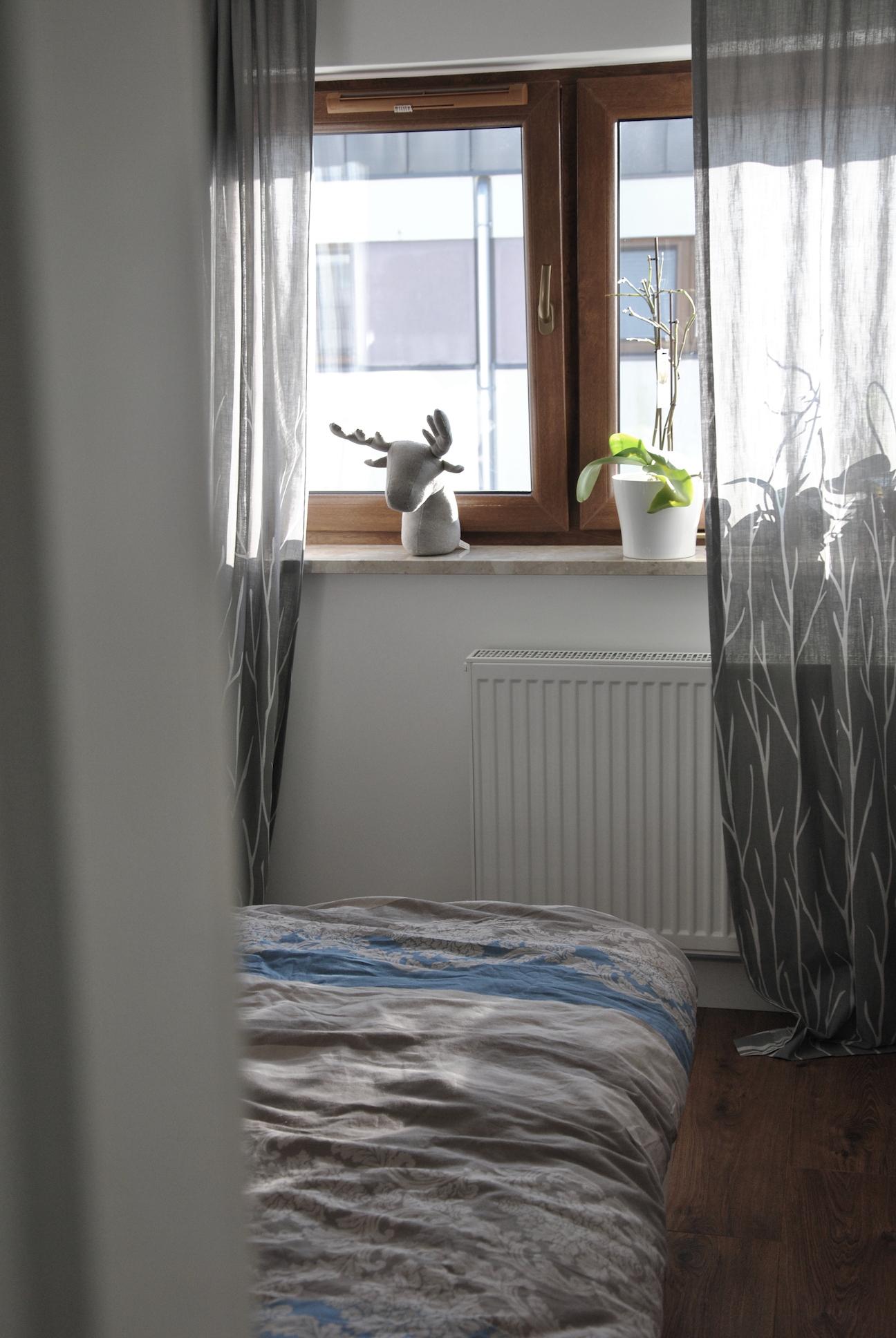 sypialnia wnętrze nowoczesne