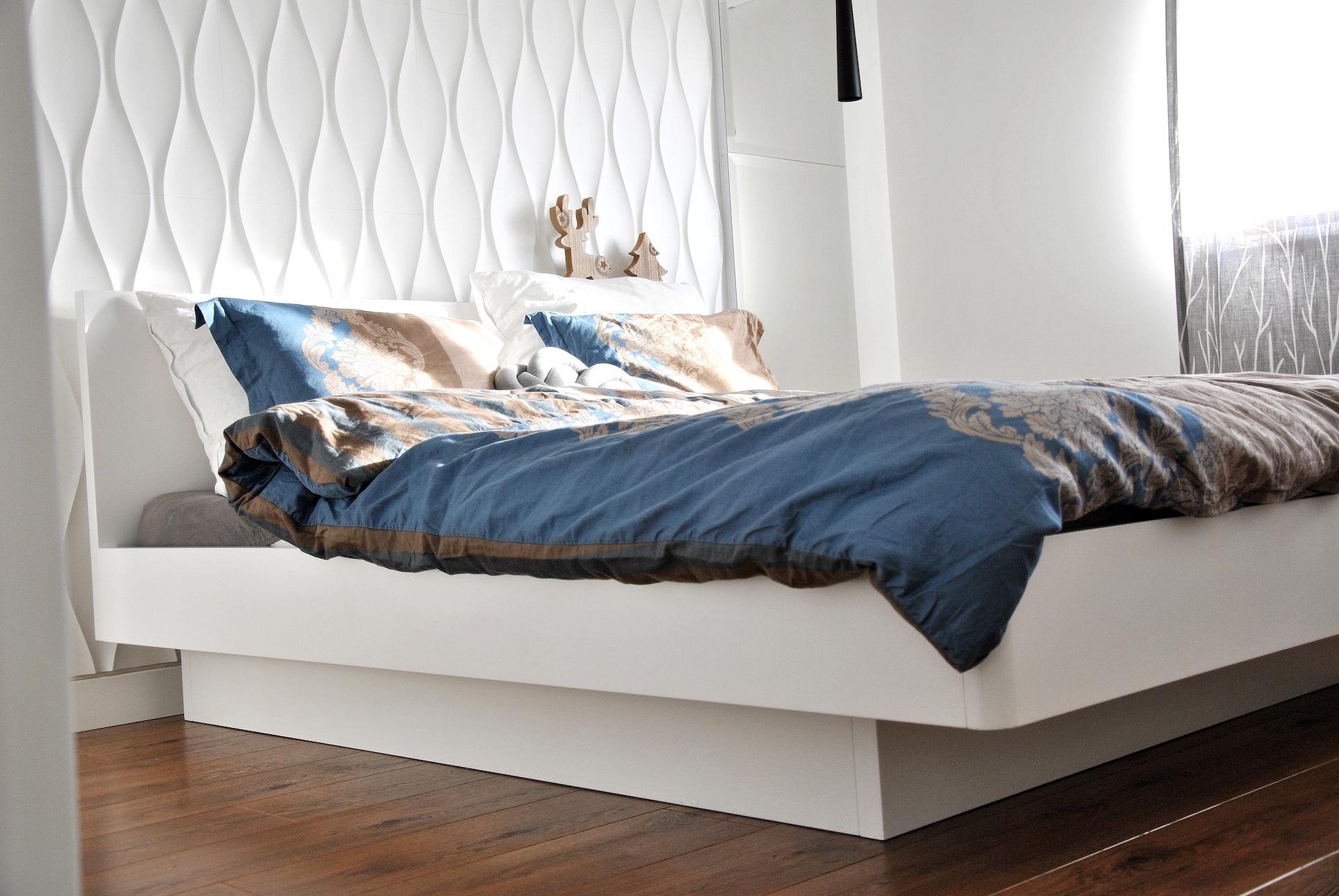 Nasza sypialnia- Wasza inspiracja, czyli jak urządzić małe wnętrze i niewielką garderobę
