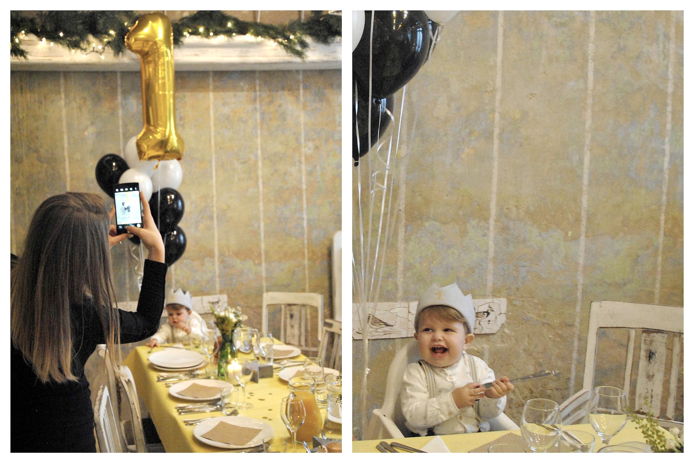 pierwsze urodziny chłopca