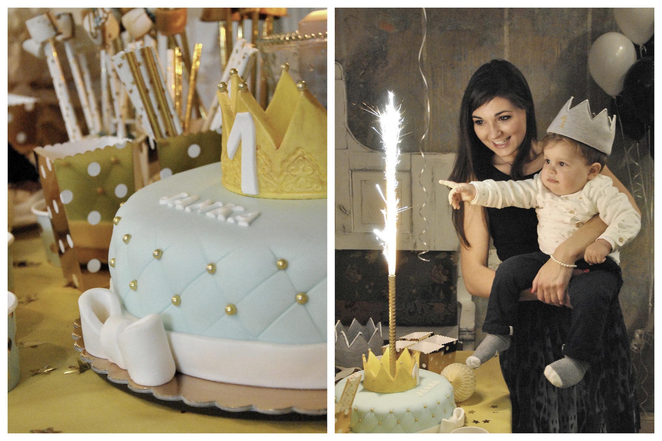 pierwsze urodziny tort