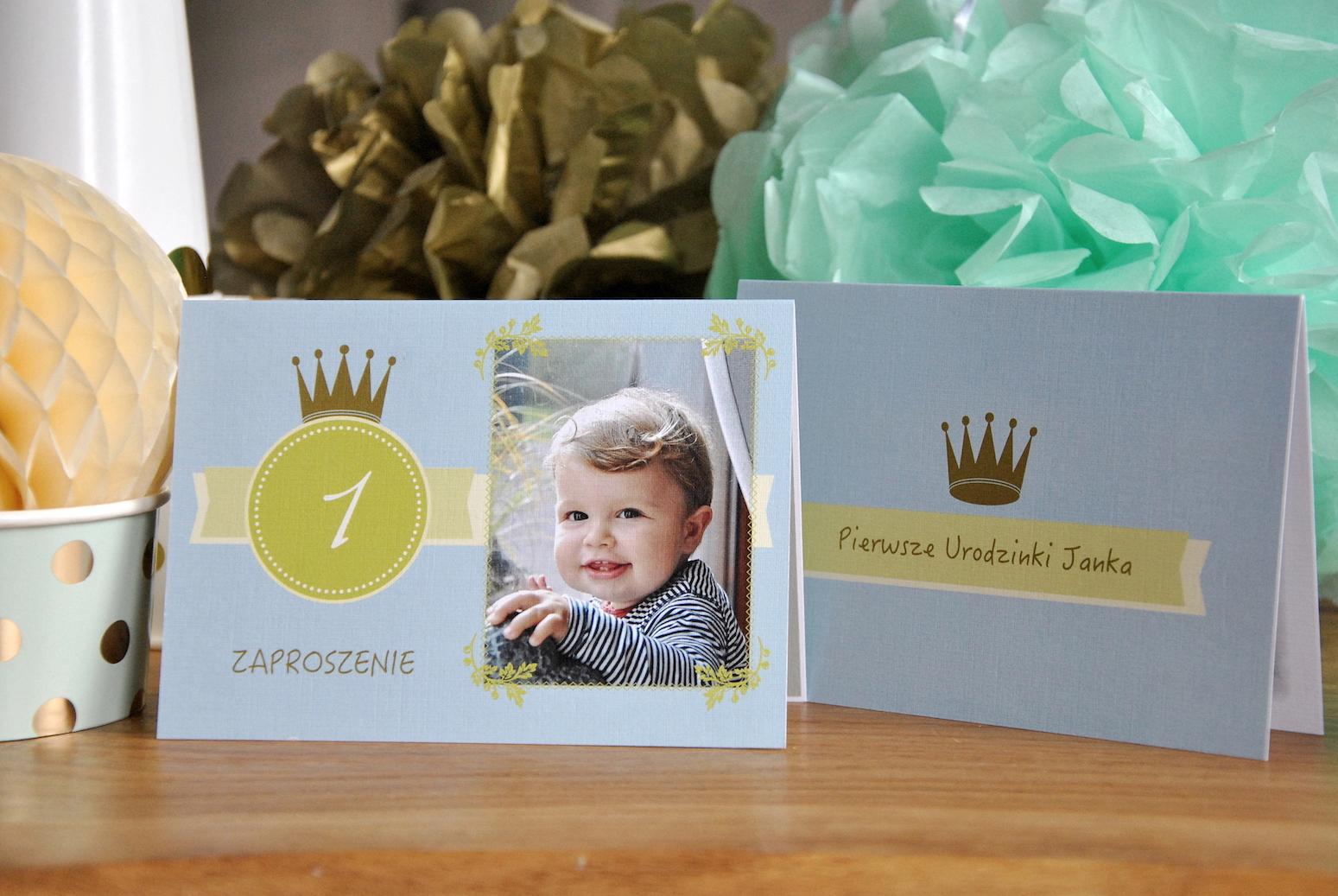 zaproszenie pierwsze urodziny