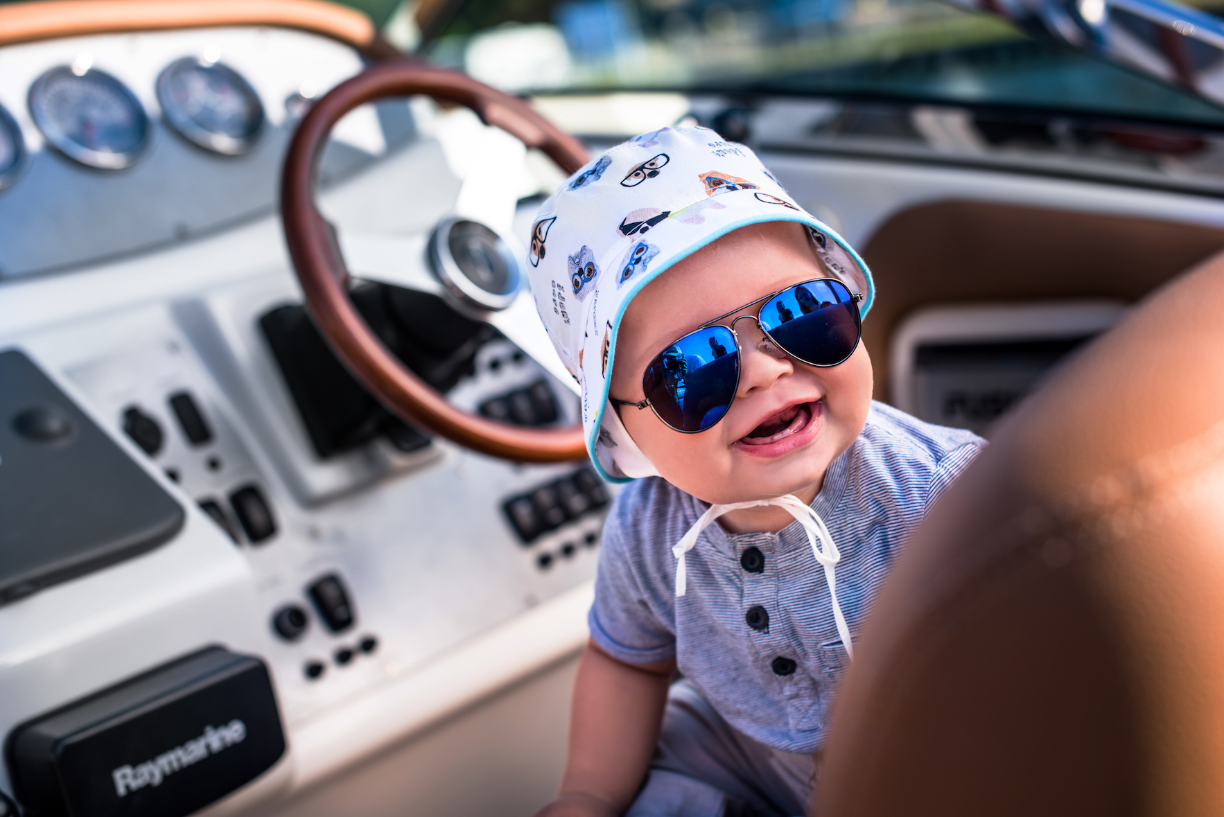 kapelusik dla chłopca