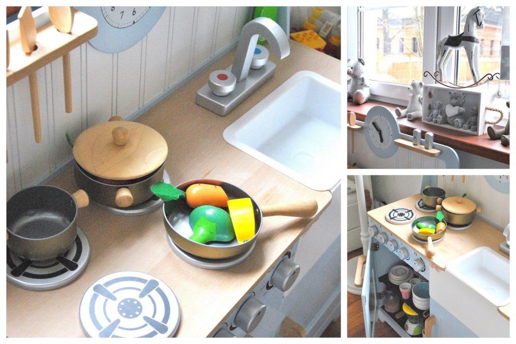 kuchnia w pokoiku chłopca