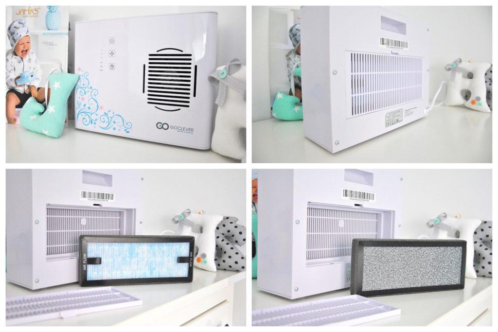 oczyszczanie powietrza w pokoiku dziecka