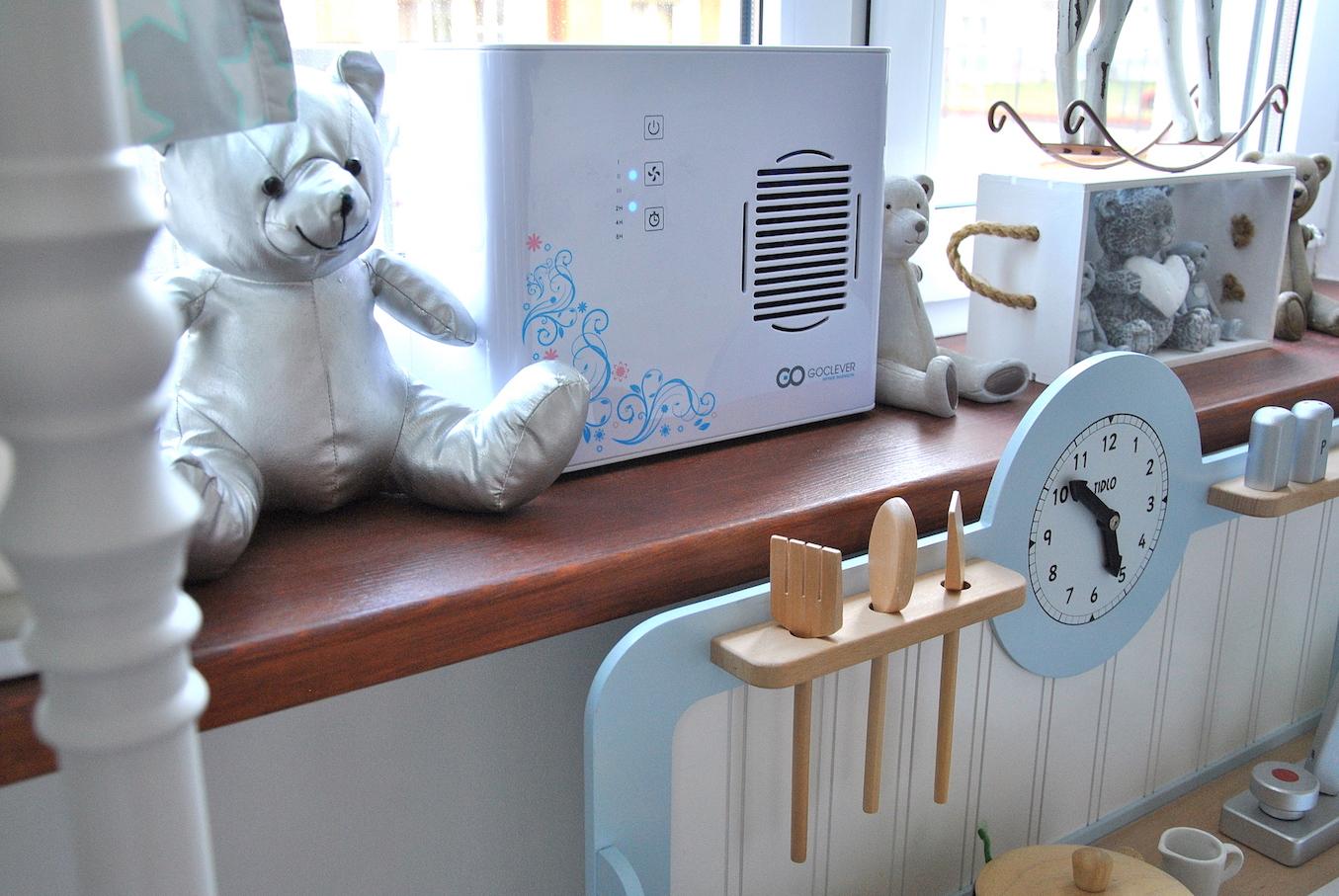 Oczyszczaczanie powietrza przy użyciu urządzenia Goclever