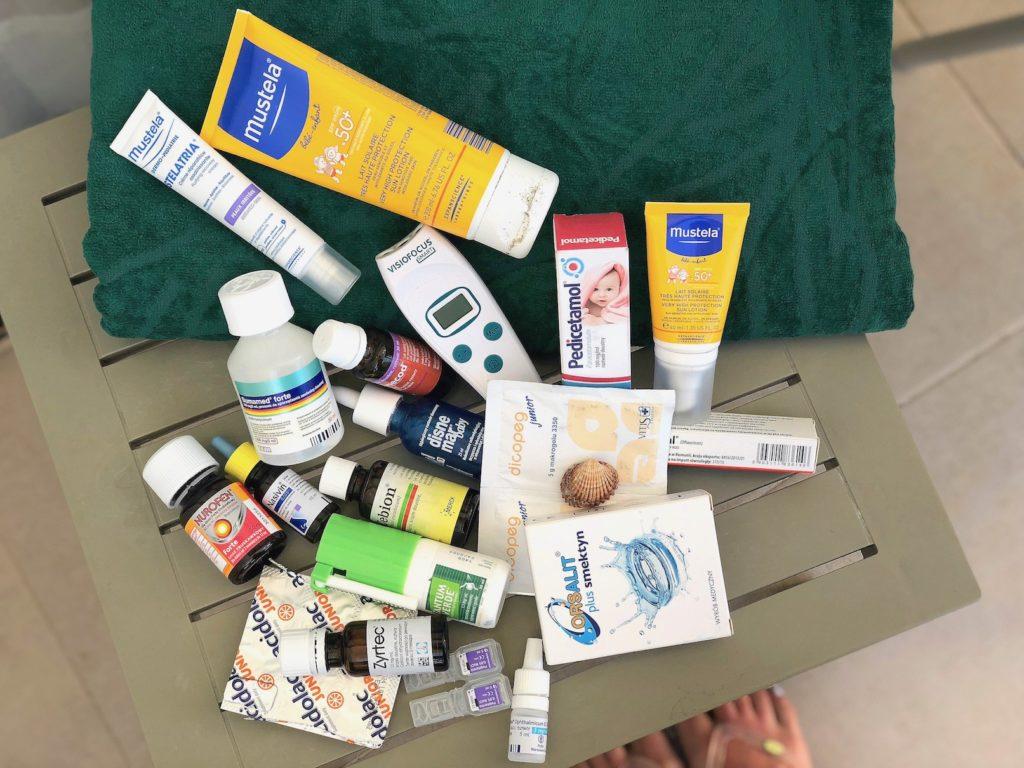 leki na wakacje