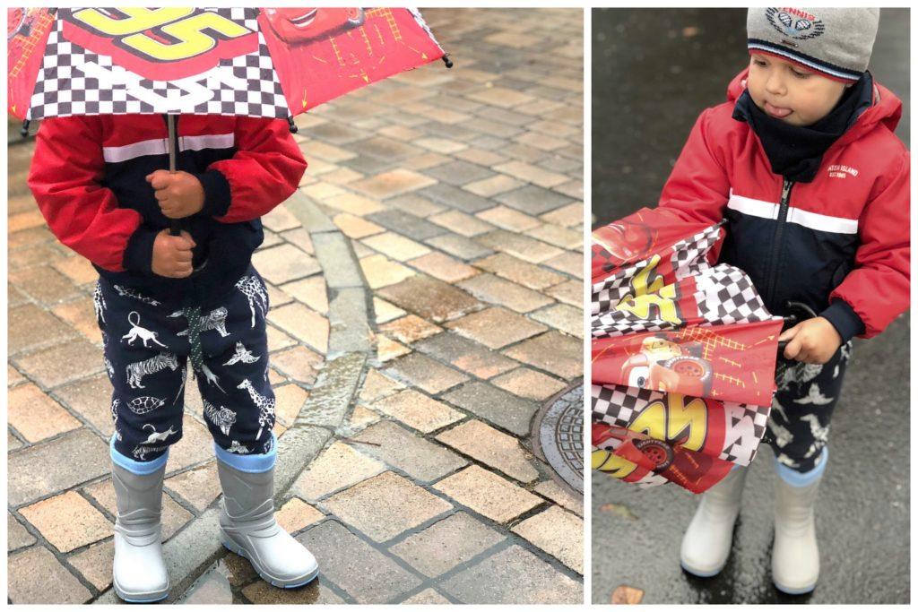 kalosze deszcz przedszkolak