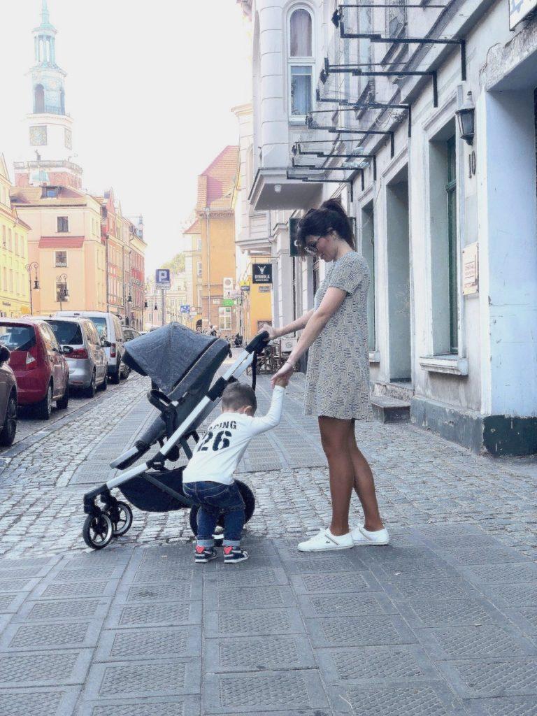 thule sleek wózek dla aktywnych
