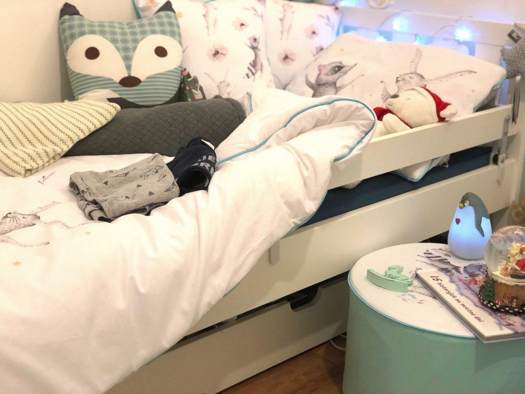 kącik do spania dla chłopca
