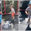 Nasz nowy sposób na codzienną dawkę sportu. Gigantyczna zabawka ogrodowa! Mammoth trampolina!