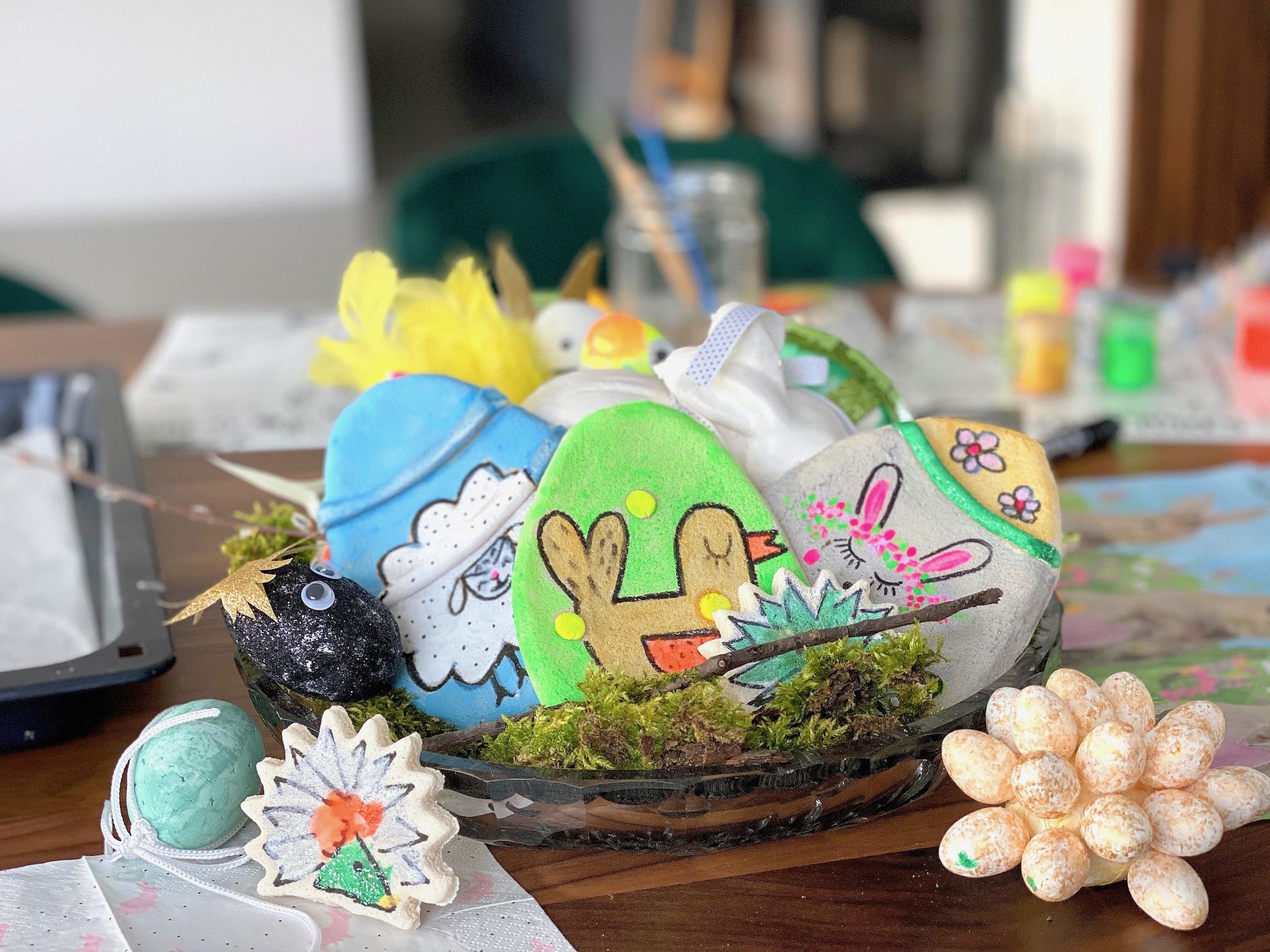Wielkanocne dekoracje DIY, czyli proste, a efektowne i to bez wychodzenia z domu