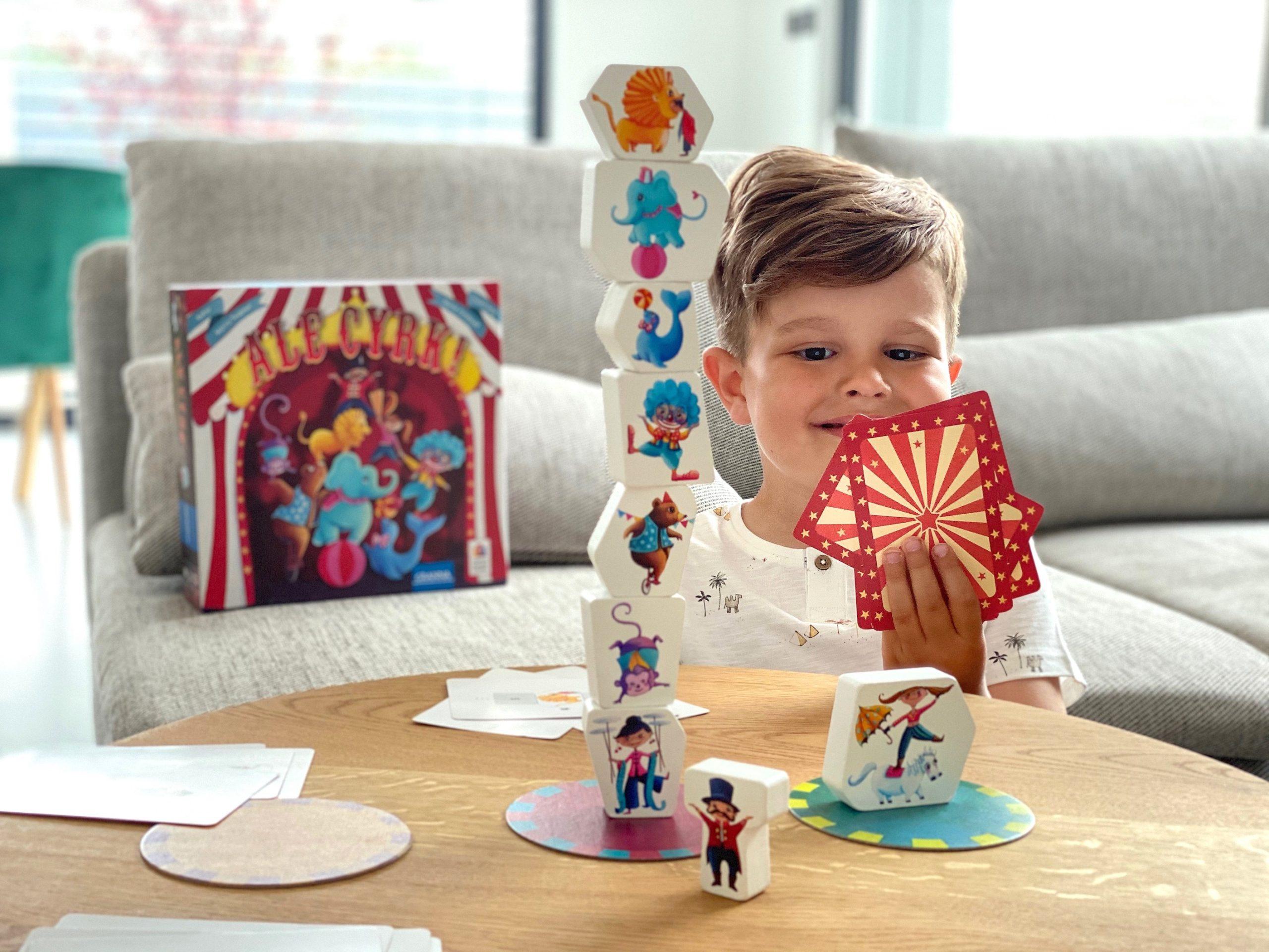Nasze hity wśród planszówek (i nie tylko), czyli świetna rozrywka dla przedszkolaka i rodziny